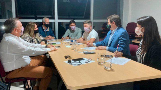En un encuentro con legisladores