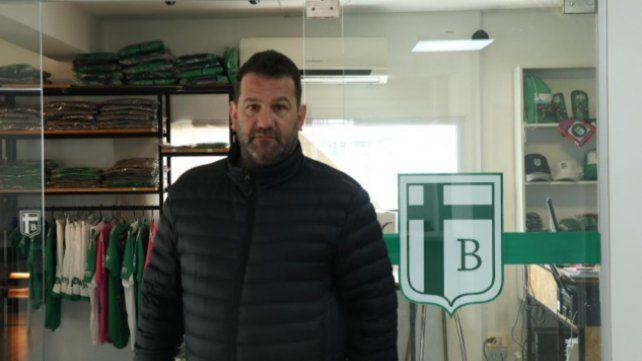 Elpresidente de Sportivo Belgrano de San Francisco