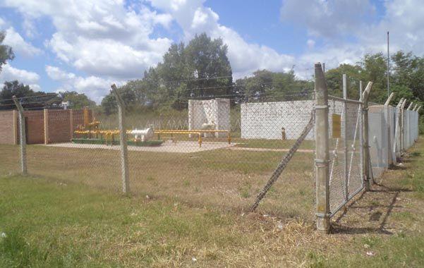 Gas natural. La planta reductora de Casilda a la vera de la ruta 92. La Sapem se encargará de la operación del servicio.