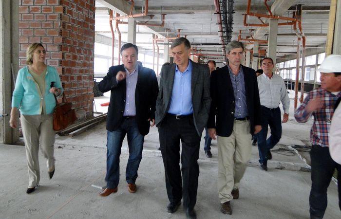 Binner estuvo en San Crustóbal junto al senador departamental Felipe Michlig