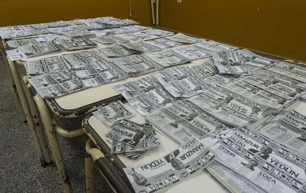 Desmadre de papeletas. El uso de boletas colectoras en Tucumán