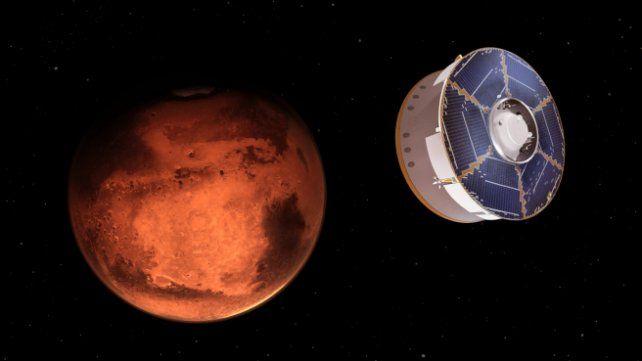 Llegada de Perserverance a Marte.