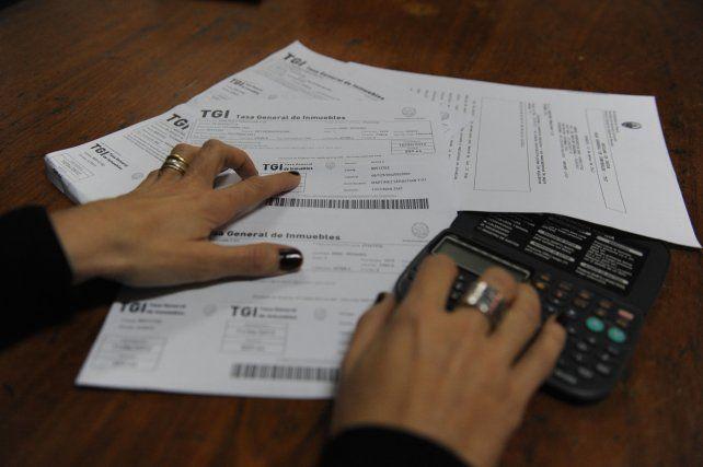 Ajuste tributario. La Tasa General de Inmuebles (TGI) tendrá una suba a partir de abril