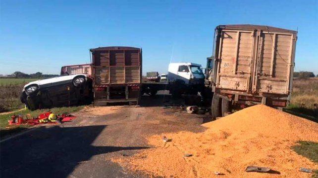 Dos mujeres fallecieron en un siniestro vial sobre ruta 14