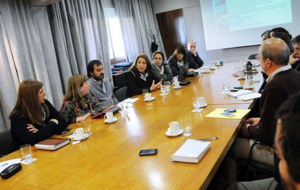Mesa de trabajo. La comisión de sustentabilidad tuvo su primera reunión.