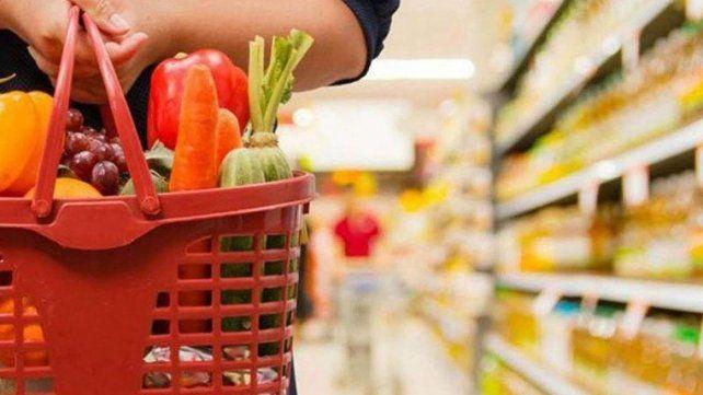 La suba de precios estuvo impulsada por las verduras y frutas.
