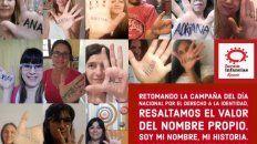 Campaña de la ONG Forum Infancias Rosario por respeto al nombre propio y sin rótulos médicos.
