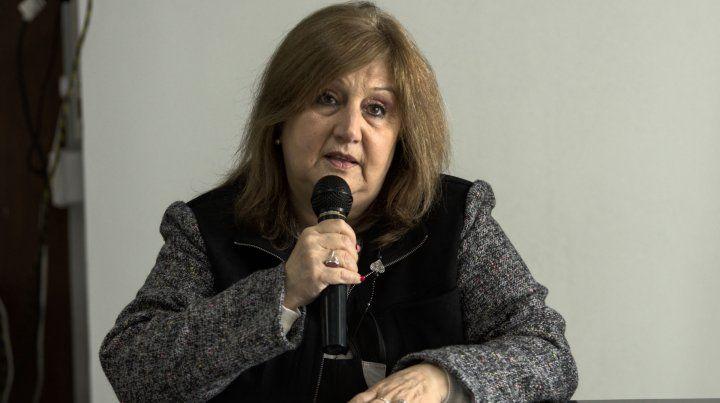 La ministra Adriana Cantero