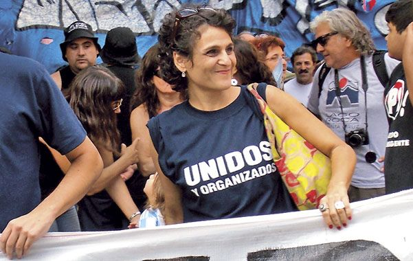 Con toda la fuerza. Norma López busca la reelección en el Concejo rosarino en la lista que encabeza el Tigre Héctor Cavallero.