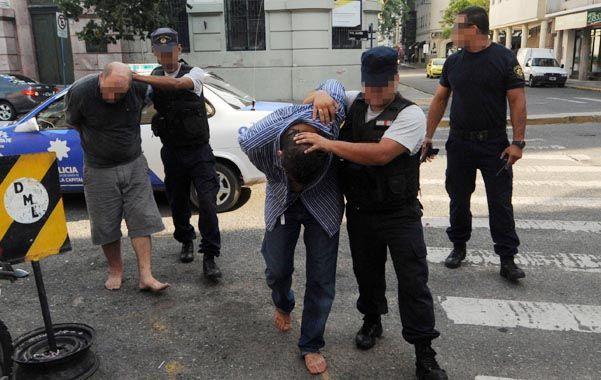 in fraganti. Romano fue detenido acusado de un asalto en febrero de 2013.