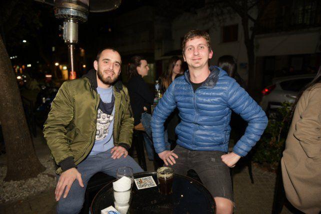 Jonatan Cacchiarelli y Uriel Castanetto.