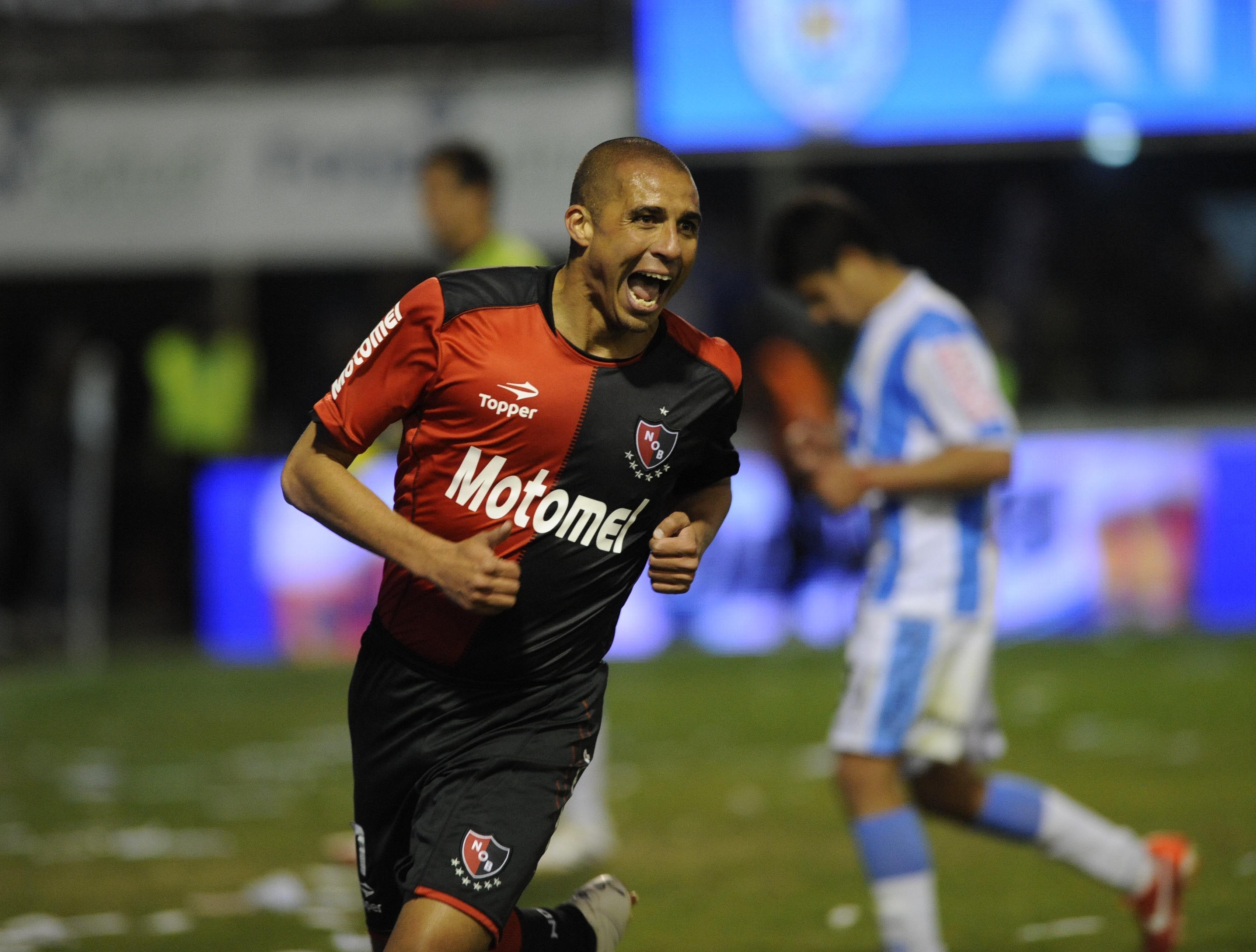 En Newell's convirtió su primer tanto en la victoria ante Atlético de Rafaela. (Foto: H. Río)