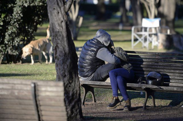 Cálido sol de invierno. Las bajas temperaturas seguirán presentes al menos hasta el fin de semana.