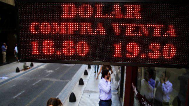 freno. Los operadores indicaron que ayer no se dio una intervención del Banco Central.