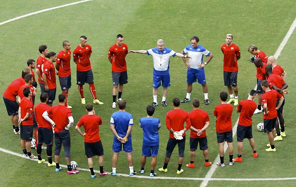 Suiza demostró que es un equipo contundente arriba