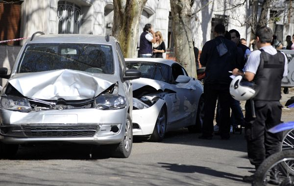Martín Paz fue acribillado el 8 de septiembre de 2012 en su cupé BMW en Entre Ríos y 27 de Febrero.