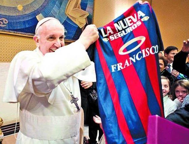 Francisco siempre tiene presente a San Lorenzo aunque a veces no lo haga público.