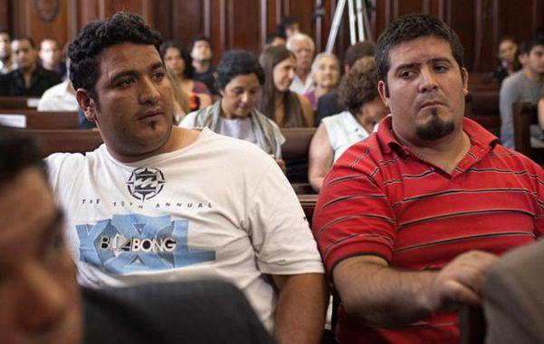 Condenados. Gonzalo José Gómez (izq.) y su hermano José Fernando Chenga Gómez