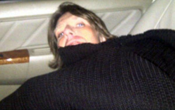 Fantino durmió en su auto porque su mujer no lo dejó entrar en la casa.