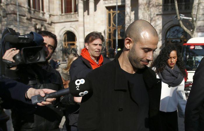 La condena a Mascherano fue por defraudar al fisco en 1