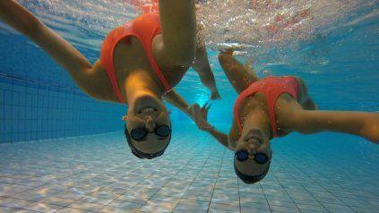 Camila Arregui y Trinidad López pulieron y mejoraron las rutinas que utilizaron en el Mundial de 2019. Con ellas competirán.