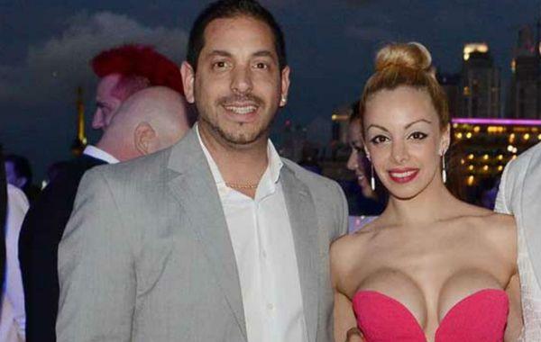 Ariel Diwann y Gisela Bernal en la época donde primaba el amor.