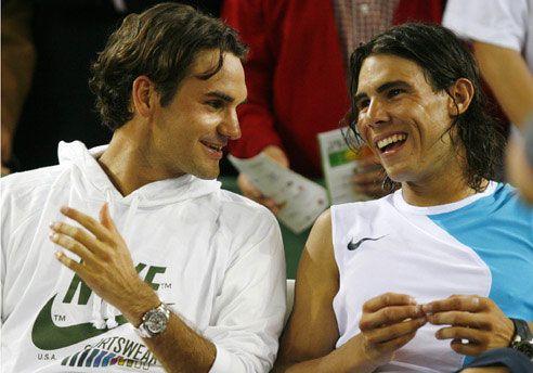 España contra Suiza, Nadal contra Federer