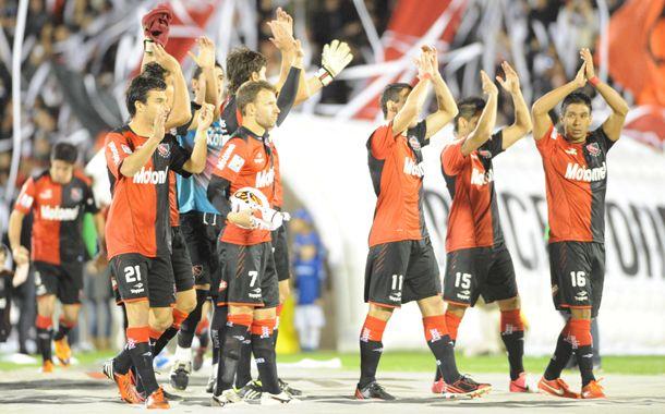 Los jugadores de Newells lideran el torneo Final y están en semis de la Libertadores. (Foto: S. Suárez Meccia)