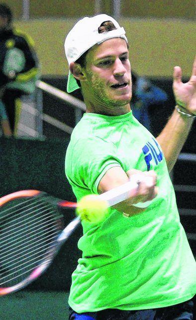 Primera raqueta. En Diego Schwartzman descansa gran parte de la ilusión argentina.