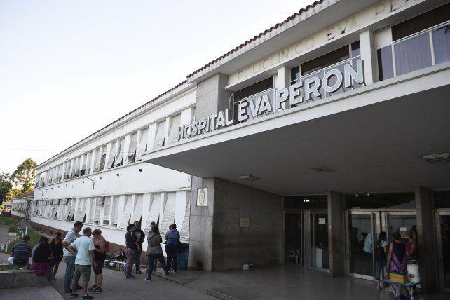 La víctima está internada en el Hospital Eva Perón.