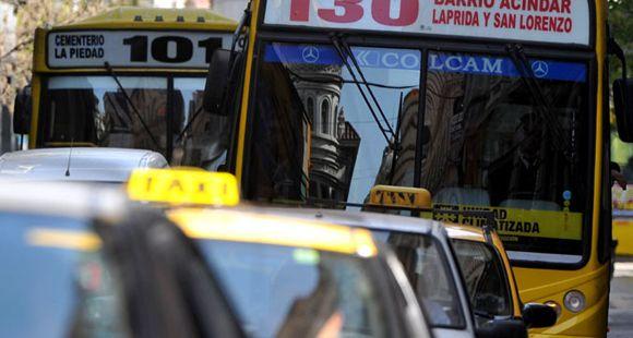 Arranca el debate por los carriles exclusivos para colectivos y taxis