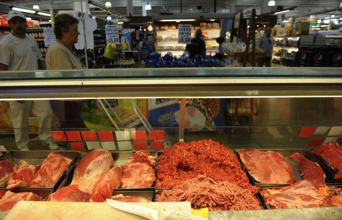 En punta. La carne lideró las subas en alimentos durante diciembre.