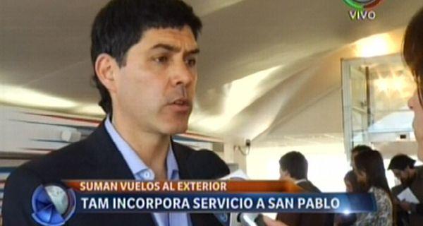 Ramos: El objetivo del gobierno es impulsar la conectividad del aeropuerto de Rosario