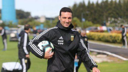 Lionel Scaloni, entrenador del seleccionado argentino de fútbol.