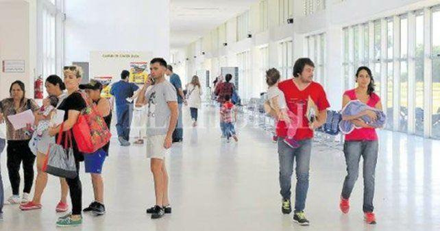 afluencia. En el nuevo hospital Gutierrez hay un 30% más de pacientes.