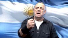 Ricardo Iorio publicó su versión del Himno Nacional Argentino en sus redes sociales.