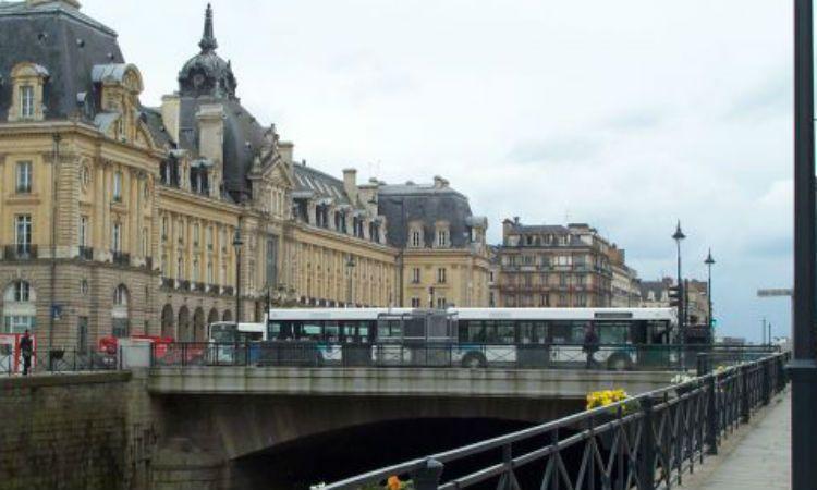 La pintoresca ciudad de Rennes