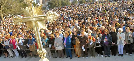 San Cayetano congregó a una multitud