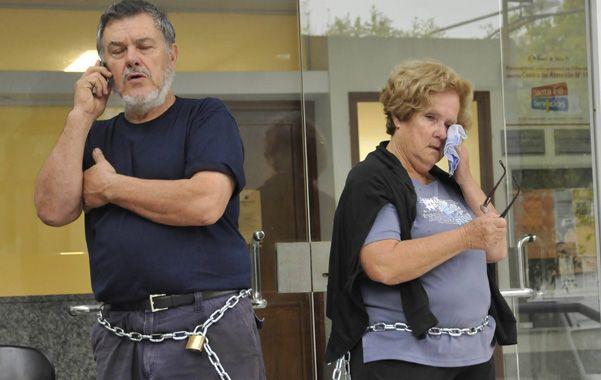 Encadenados. Los padres de Paula Perassi
