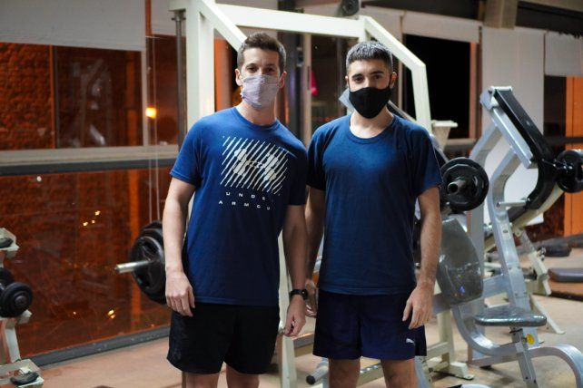 Gastón Aymo y Néstor Correa