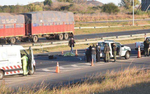 El incidente vial se produjo alrededor de las 7 en Circunvalación y Uriburu.