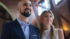 La fiesta de casamiento de Abel Pintos y Mora Calabrese se celebra este sábado en la Estancia Villa María.
