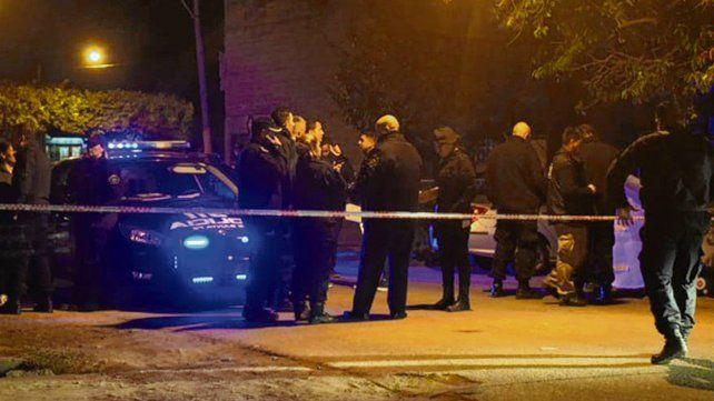 Barrio Plata. El crimen de Caraballo ocurrió la tarde del jueves pasado.