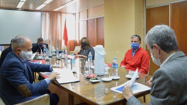 Los representantes de la provincia llegaron a un acuerdo con los representantes de la Cámaras de la Construcción.