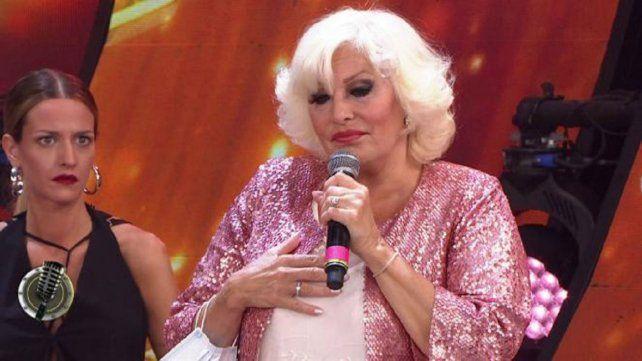 Luisa Albinioni se despidió del Cantando 2020 quebrada en llanto.