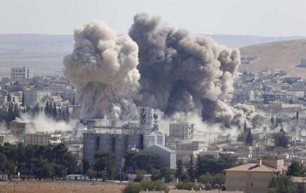La ofensiva aérea liderada por EEUU ha hecho limitado daño a los extremistas radicales.