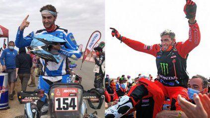 Rally Dakar: argentinos en moto y en cuatriciclo hicieron historia