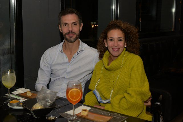 Nicola Segier y Fernanda Basualdo