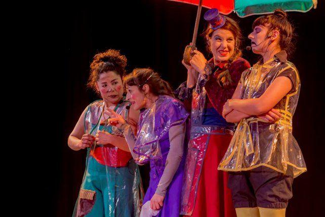 La compañía Teatro de la Huella cuenta con dramaturgia