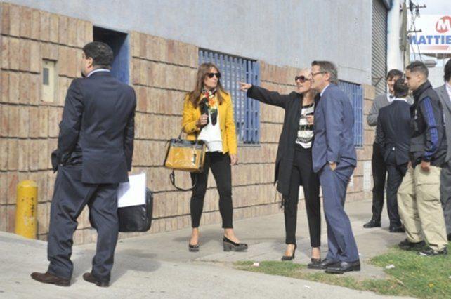 así fue. La fiscal Herrera les explica a los jueces Manfrin y Más Varela.